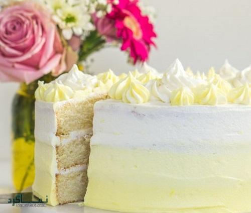 طرز تهیه کیک لیمویی خوش طعم