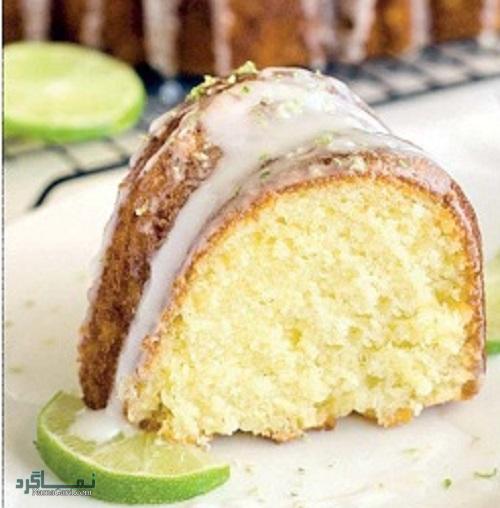 دستور پخت کیک لیمویی مجلسی + فیلم آموزشی