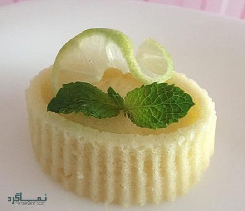 نحوه پخت کیک لیمویی خوشمزه
