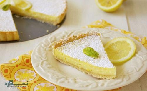 مراحل نحوه پخت کیک لیمویی خوشمزه + فیلم آموزشی
