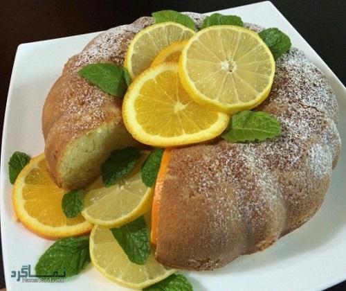 کیک لیمویی خوش طعم