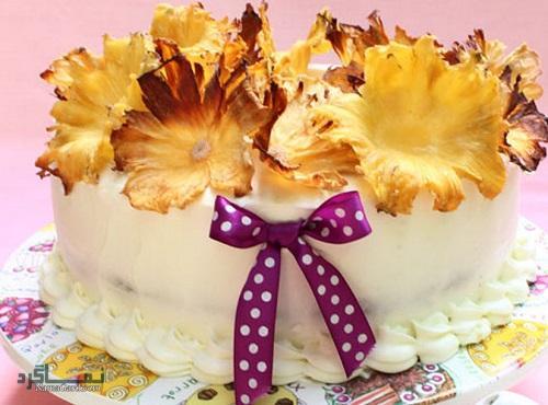 کیک انبه خوشمزه