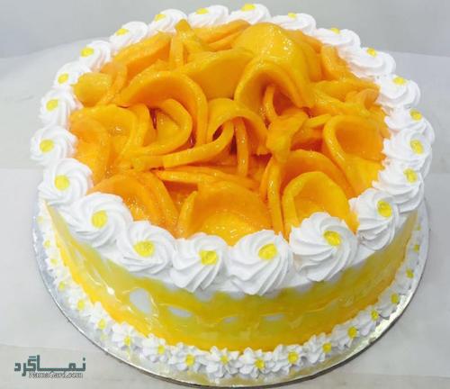 مراحل طرز پخت کیک انبه خوش طعم