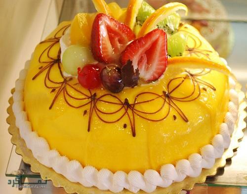 کیک انبه شیک