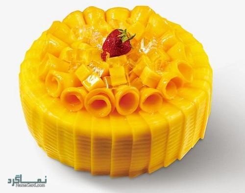 کیک انبه | طرز تهیه کیک انبه خوشمزه + فیلم آموزشی