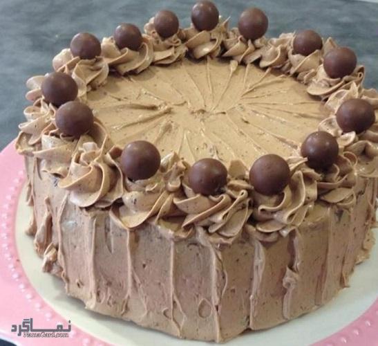 کیک موکا خوش طعم