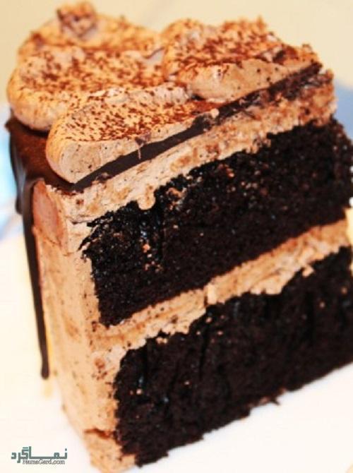 روش پخت کیک موکا خوش طعم