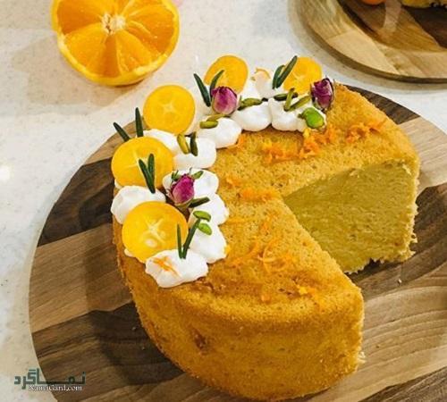 طرز تهیه کیک پرتقال خوشمزه