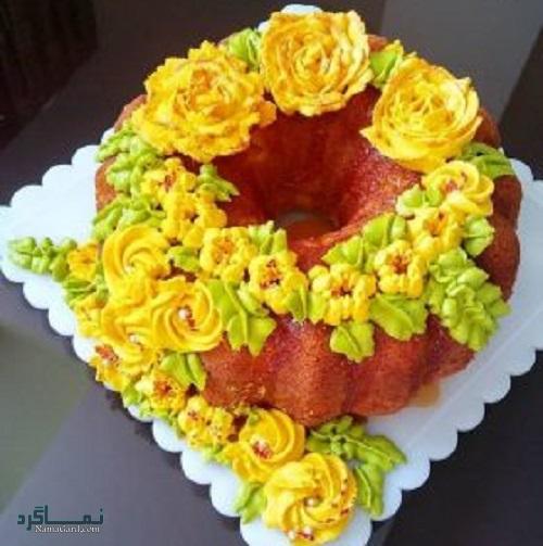 کیک پرتقال | طرز تهیه کیک پرتقال خوشمزه + فیلم آموزشی