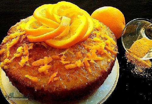 کیک پرتقال خوش عطر + فیلم آموزشی