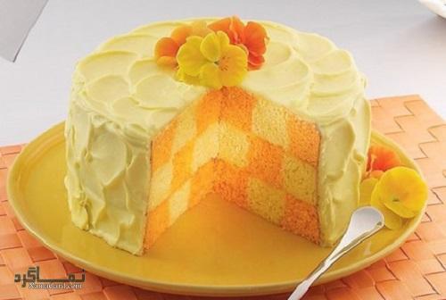 فیلم آموزشی نحوه پخت کیک پرتقال شکلاتی