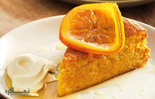 کیک پرتقال خوش عطر