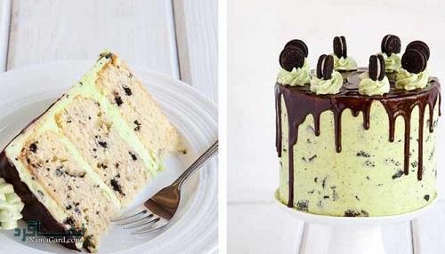 کیک نعناع خوش عطر