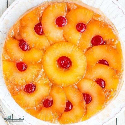 کیک آناناس لذیذ