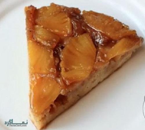 فیلم آموزشی نحوه پخت کیک آناناس