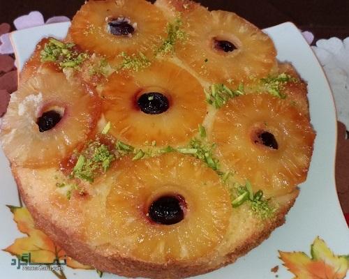 روش پخت کیک آناناس لذیذ