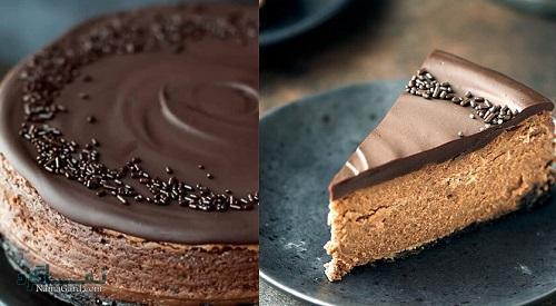 چیزکیک شکلاتی مجلسی