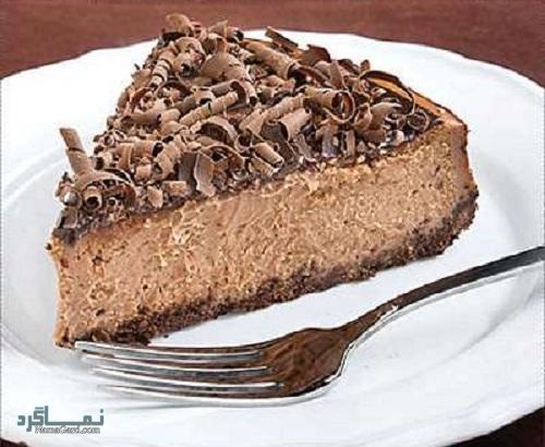 نحوه پخت چیزکیک شکلاتی مجلسی