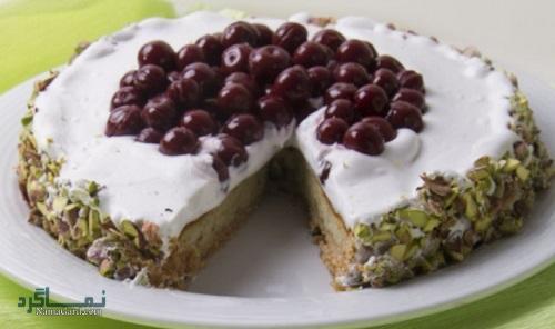 طرز تهیه چیز کیک پسته خوشمزه