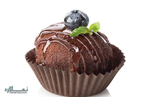 مراحل طرز پخت کاپ کیک شکلاتی خوشمزه