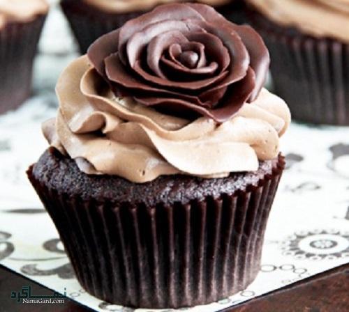 طرز پخت کاپ کیک شکلاتی خوشمزه + تزیین