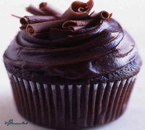 روش پخت کاپ کیک شکلاتی بدون فر