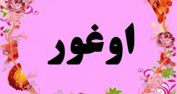 معنی اسم اوغور – معنی نام اوغور – زیباترین اسم های ترکی