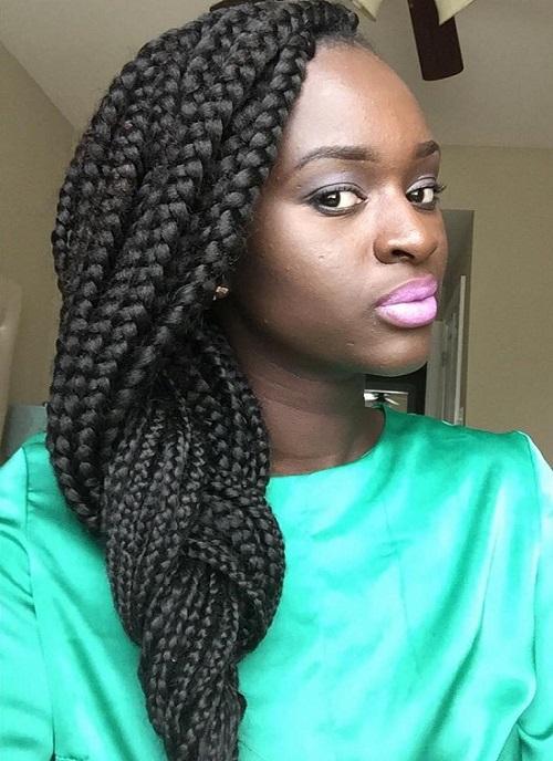 مدل موی بافت آفریقایی