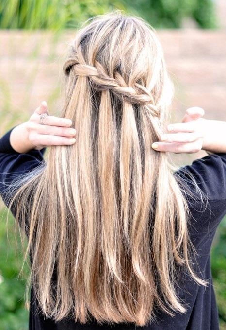 مدل بافت موی آبشاری