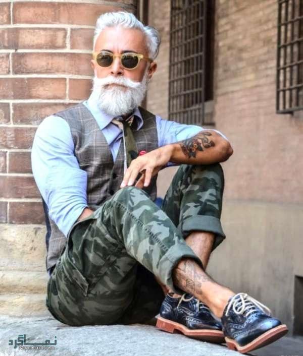 مدل موی مردانه برای افراد میانسال