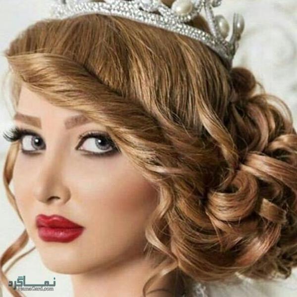 مدل موی عروس ایرانی