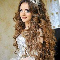 ۳۰ مدل موی باز عروس جدید  شینیون های ۲۰۱۹ برای استایل های متفاوت