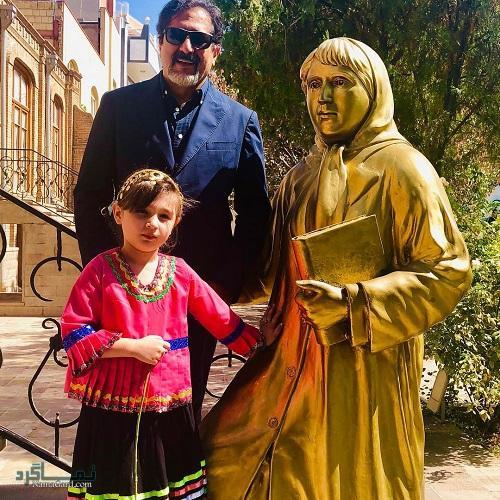 بیوگرافی حسام الدین سراج و همسرش + تصاویر آن ها