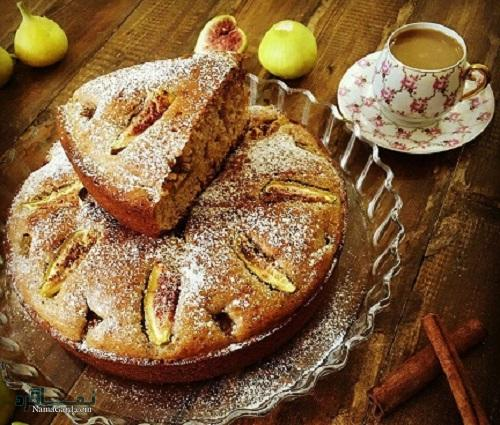 کیک انجیر