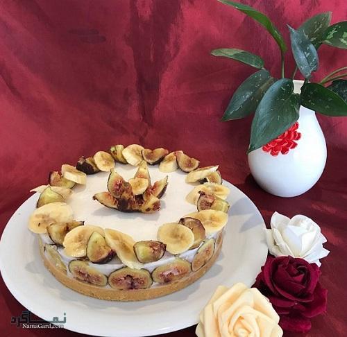طرز پخت کیک انجیر مجلسی