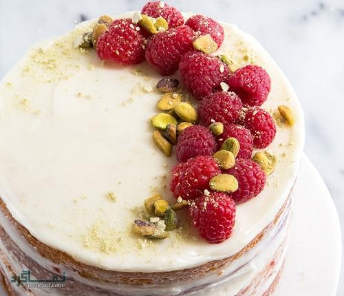 دستور پخت کیک تمشک شیک