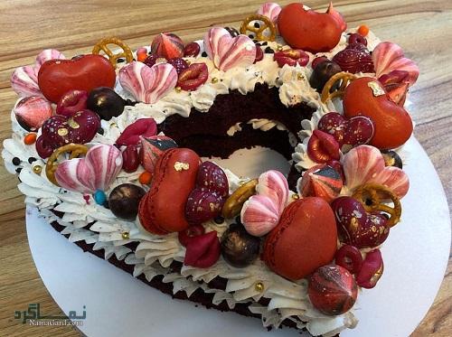 کیک تمشک | طرز تهیه کیک تمشک ساده + فیلم آموزشی