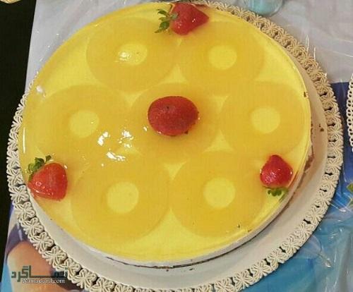 طرز پخت چیزکیک آناناس مجلسی