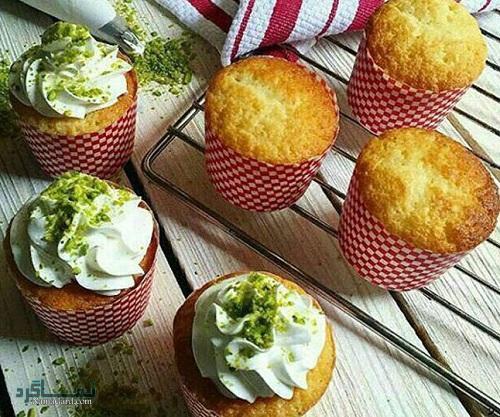 روش پخت کاپ کیک نارگیلی خوشمزه