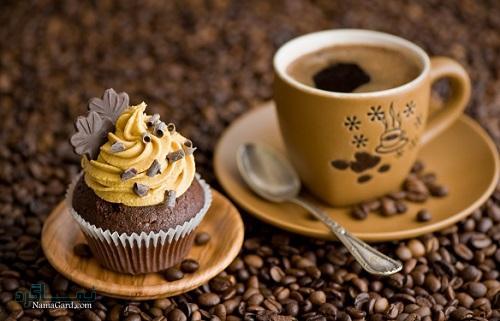 کاپ کیک قهوه   طرز تهیه کاپ کیک قهوه خوشمزه + فیلم آموزشی