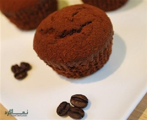کاپ کیک قهوه خوش عطر + فیلم آموزشی