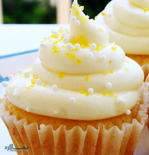 کاپ کیک عسلی + فیلم آموزشی