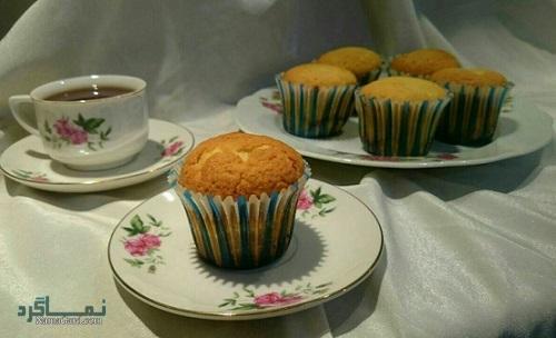 کاپ کیک عسلی خوش طعم