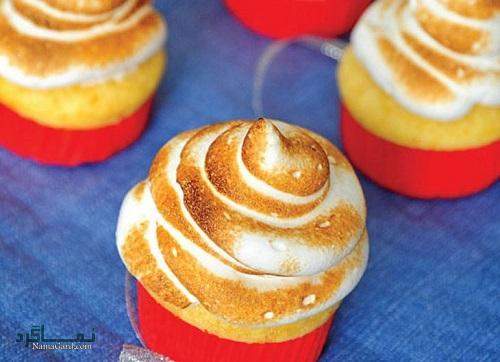 مراحل طرز تهیه کاپ کیک عسلی خوش طعم