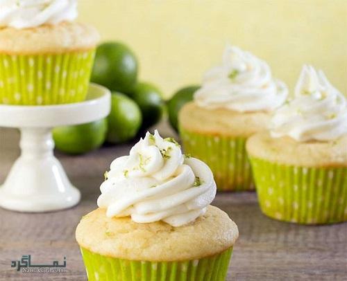کاپ کیک لیمویی