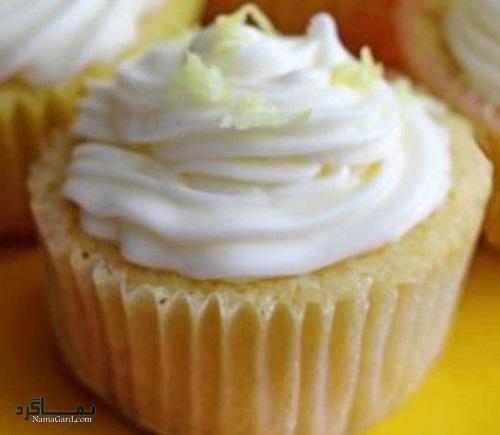 طرز تهیه کاپ کیک لیمویی خوشمزه + تزیین