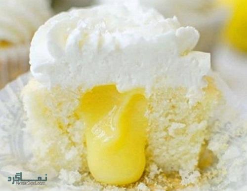 روش پخت کاپ کیک لیمویی خوش طعم