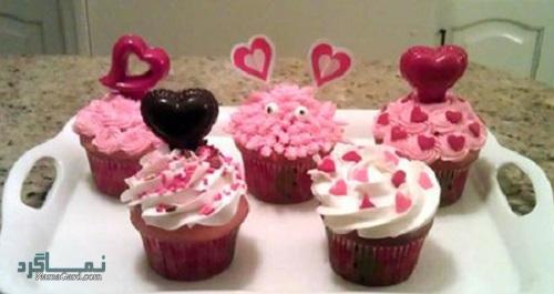 کاپ کیک انار