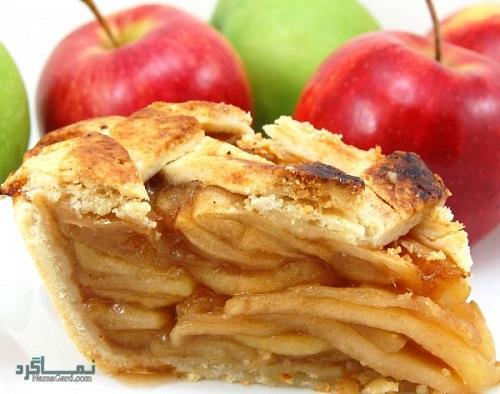 شیرینی پای سیب