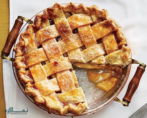 روش پخت مواد میانی شیرینی پای سیب